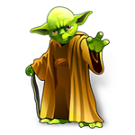 Yoda in Star Wars movie