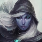 Drow Ranger in WarCraft III