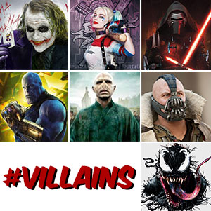 Greatest Villians Sample Voices