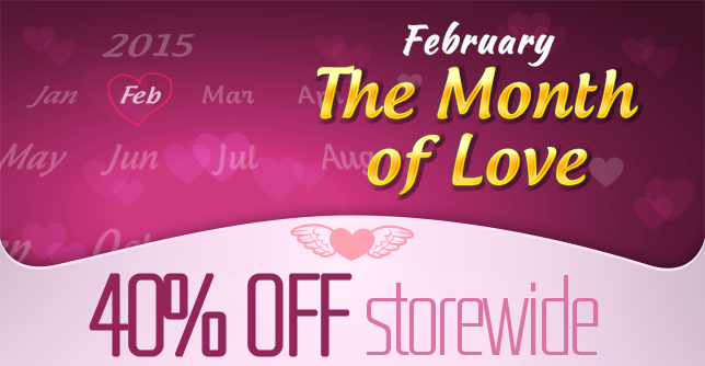 Valentine's Day - ALL 40% OFF
