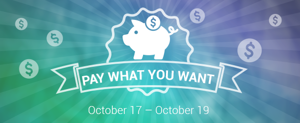 Pay What You Want Oct172014