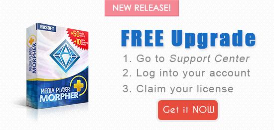 Media Player Morpher PLUS_FREE Upgrade