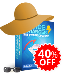40% OFF Voice Changer Software Diamond 8.2
