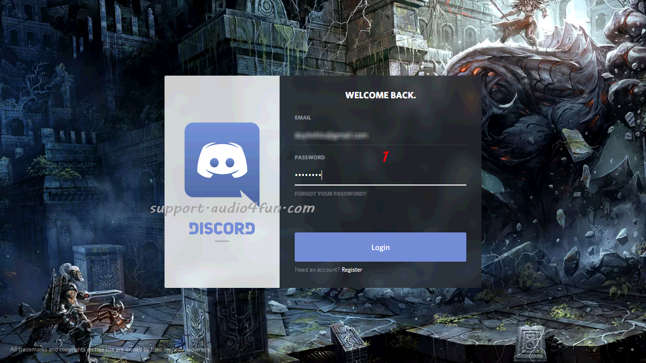Change voice in discord with vcsd 80 audio4fun support center login your account baditri Choice Image