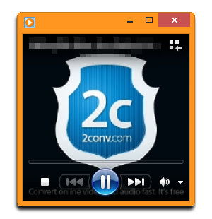 Play the song with Window Media Player
