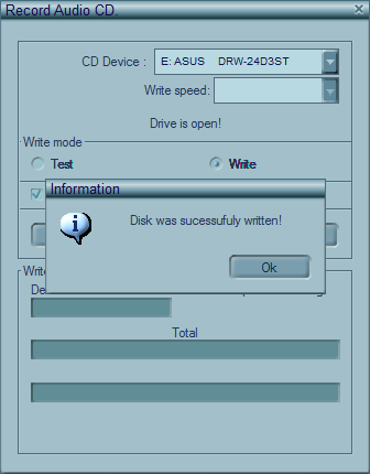 Make an MP3 CD 8