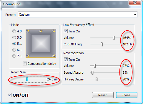 how to create the manifold of set parameter