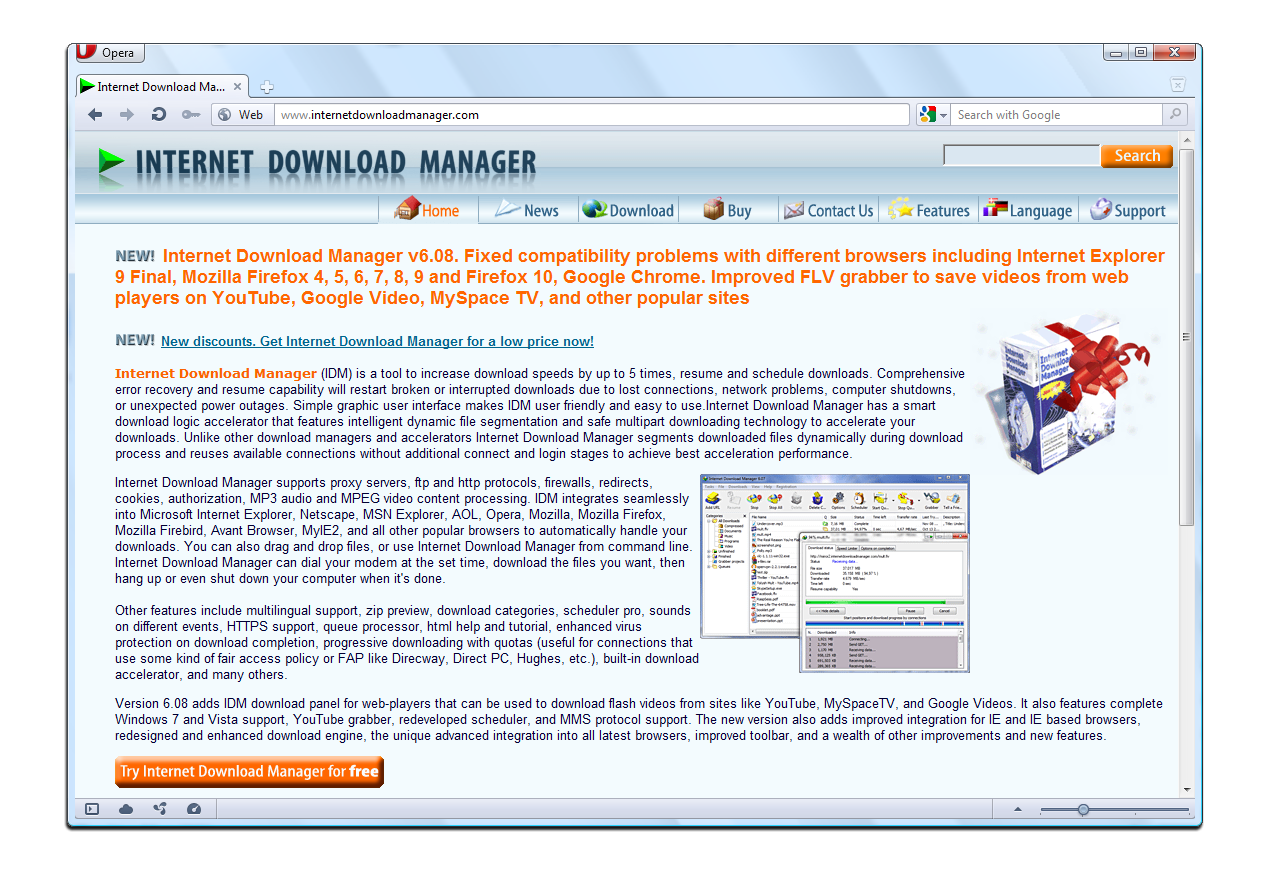Download purchased software using Internet Download Manager