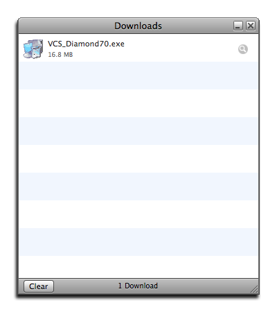 Fig 7: The download completed