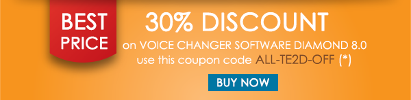 Exclusive Coupon 30 On Voice Changer Diamond