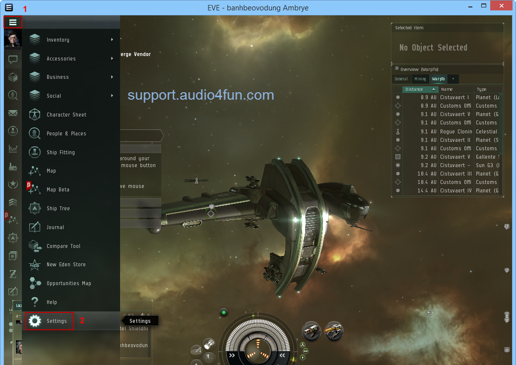 VCSD 9 and EVE ONLINE