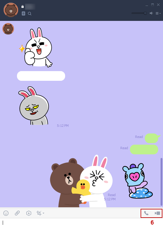 LINE Video/Voice Call