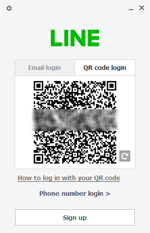 LINE QR Login
