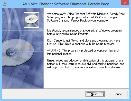 Install parody voices