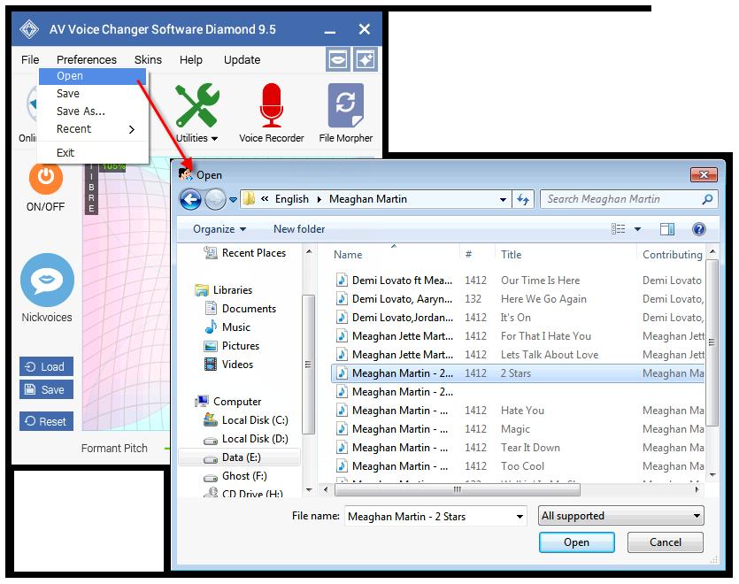 VCSD9_Open audio file