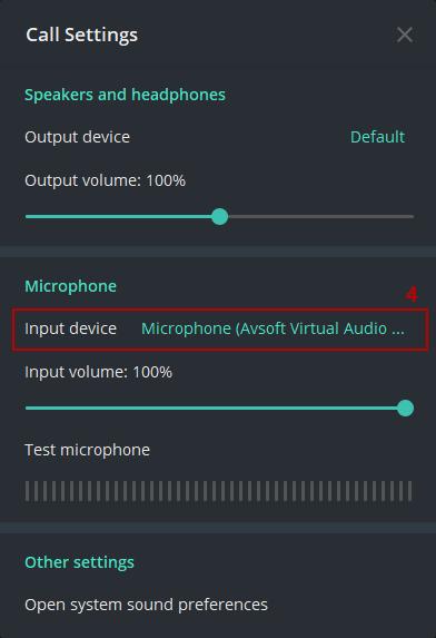 Telegram Microphone