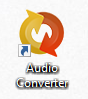 Audio Converter shortcut