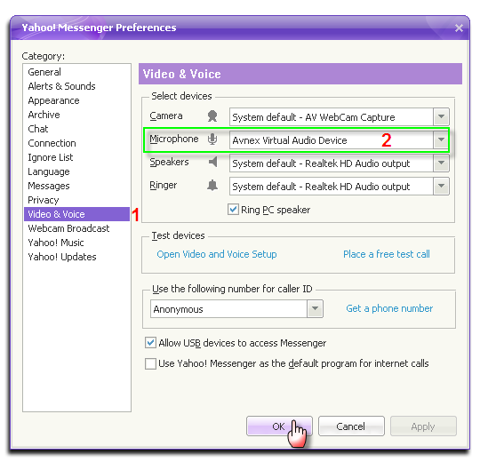 how to make a new yahoo messenger account