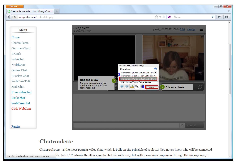 Us webcam chat
