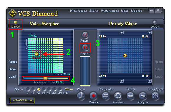 Voice Changer Software Diamond Talk Like Morgan Freeman