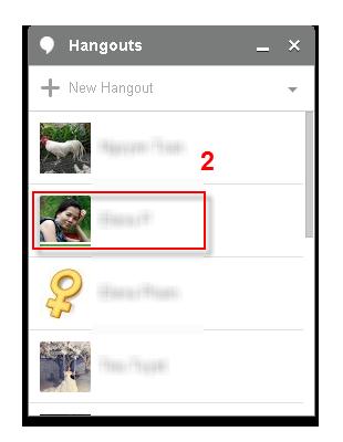 VCSD - Hangouts contact list