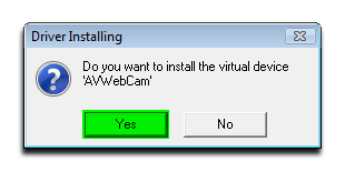 Click ok to installing vad