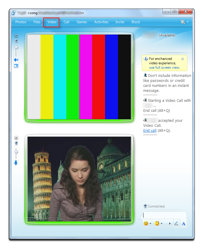 Fig 5: Preview - Windows Live